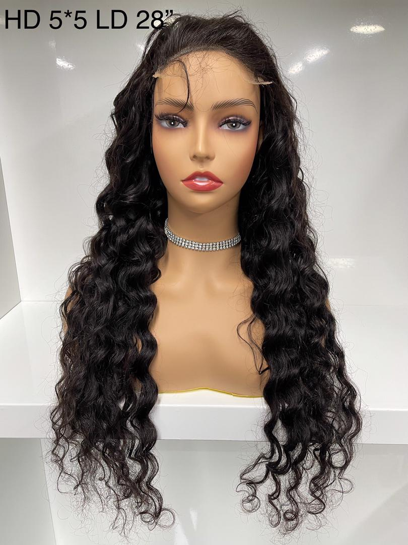 BEEHIVEHAIR HD LACE 5 X 5 LACE CLOSURE WIG